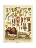 Mixed Articles Giclee Print by Albert Kretschmer