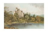 Invergarry Castle - Loch Oich Giclee Print by  English School