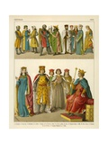 German Costume 1200 Giclee Print by Albert Kretschmer