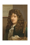 Christiaan Huygens Giclee Print by Ricardo Marti