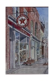 Antique Shop, Beacon, NY, 2004 Giclee Print by Anthony Butera