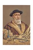 Ferdinand Magellan Giclee Print by Jose Armet Portanell