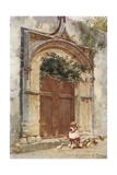 Gateway at Taormina Giclee Print by Alberto Pisa