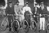 Royal Cyclists Starting for a Spin at Fredensborg, Denmark, 1900 Photographic Print