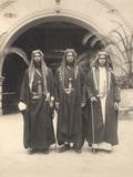 Sherif Abdullah's Attendants, Jerusalem, 1921 Photographic Print by A. Reid