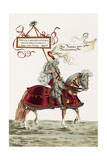 Mounted Knight in Jousting Armour, Illustration from a Facsimile Edition of 'The Young Ones'… Giclee Print by Hans Burgkmair