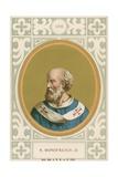 S Bonifacius II Giclee Print by  European School
