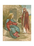 Christ and the Woman of Samaria Giclee Print by John Lawson