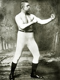Unknown Boxer, c.1900 Photographic Print by  American Photographer