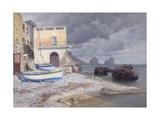 A Capri Villa, 1926 Giclee Print by Paul von Spaun