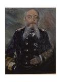 Portrait of Alfred Von Tirpitz, 1917 Giclee Print by Lovis Corinth