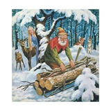 The Snow Fairy Giclee Print by  English School