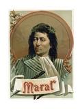 Jean-Paul Marat Giclee Print by  Spanish School