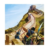 Great Wall of China Giclee Print by Andrew Howat