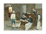 The Inquisition Giclee Print by  Spanish School