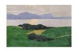 The Saleve and the Lake, 1900 Giclée-Druck von Felix Edouard Vallotton