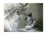 Isaiah's Vision Giclee Print by Frank Marsden Lea