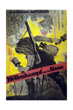 Battle in the Hell of the Aisne, 1918 Giclee Print by Hans Rudi Erdt