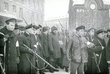 Revolutionary Militia Arresting Policemen, February 1917 Photographic Print by  Russian Photographer
