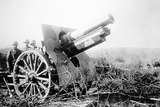 British Artillery in the Battle of the Somme, July 1916 Photographic Print by  English Photographer