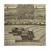 Harvesting, 1982 Giclee Print by Masabikh Akhunov