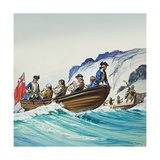 Captain Cook Giclee Print by Angus Mcbride