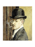 Self Portait, 1918 Giclee Print by Walter Ufer