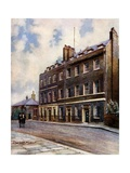 No 10 Downing Street, Whitehall Giclee Print by Charles Edwin Flower