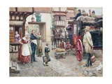 David Copperfield Goes to School Giclee Print by Fortunino Matania