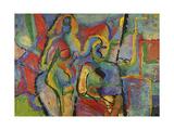 Two Nudes, 1960 Giclee Print by Nina Ivanovna Shirokova