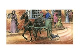 Black Beauty Giclee Print by Carlos Gabriel Roume