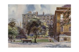The Garden of No 10, Downing Street Giclee Print by Charles Edwin Flower