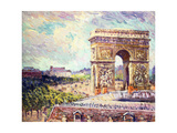 Arc de Triomphe, c.1912 Giclee Print by William Samuel Horton