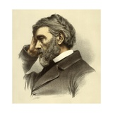 Thomas Carlyle Giclee Print by  English School