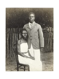 Chief of Bolombo and Wife, c.1910 Giclee Print