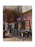 The Treasury Board Room, Office of the Chancellor of the Exchequer Giclee Print by Charles Edwin Flower