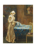 A Moment's Hesitation, 1910 Giclee Print by Arthur Hopkins
