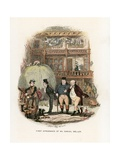 Illustration for the Pickwick Papers Giclee Print by Hablot Knight Browne