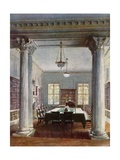 The Cabinet Room, No 10 Downing Street Giclee Print by Charles Edwin Flower