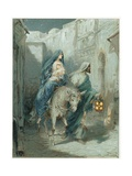The Flight into Egypt Giclee Print by Ambrose Dudley