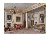The Reception Room, 10 Downing Street, 1906 Giclee Print by Charles Edwin Flower