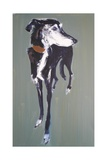 Bradley Lurcher, 2011 Giclee Print by Sally Muir