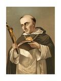 Thomas Aquinas Giclee Print by P. Ros