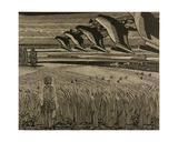 The Field Where My Father Works, 1978 Giclee Print by Masabikh Akhunov