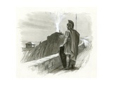 A Roman Signal Fire Giclee Print by Ralph Bruce