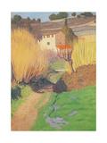 Landscape at Lagnes, 1921 Giclee Print by Felix Edouard Vallotton
