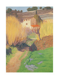 Landscape at Lagnes, 1921 Giclee Print by Félix Vallotton