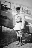 WWI French Air Ace Sous-Lieutenant Rene Fonck, Awarded Legion d'Honneur after Six Victories, 8th… Photographic Print by  French Photographer