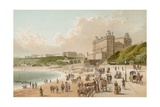 The Foreshore Road - Scarborough Giclee Print by  English School