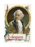 Maximilien Robespierre Giclee Print by  Spanish School